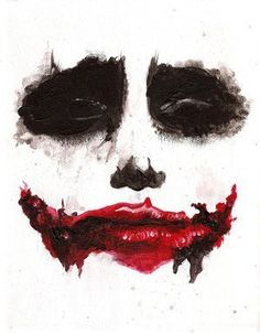 ImageFind images and videos about batman, joker and why so serious on We Heart It - the app to get lost in what you love. Joker Face, Heath Ledger Joker, The Dark Knight Trilogy, Scary Faces, Joker Wallpapers, Why So Serious, Joker And Harley Quinn, Art Graphique, Scary Halloween