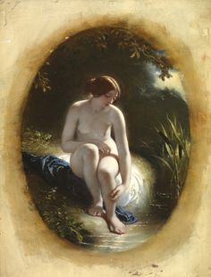"""Liriope {Naiad} """"face of the narcissus""""; mother of Narcissus by river-god Cephissus"""