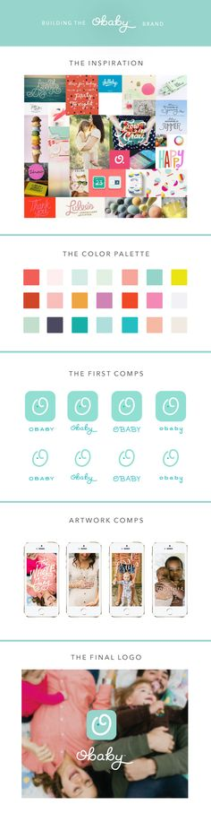 The Brand Building Process of Making & Creating Obaby - The Fresh Exchange Graphic Design Branding, Identity Design, Logo Design, Brand Identity, Branding And Packaging, Business Branding, Web Design, Brand Style Guide, Brand Building