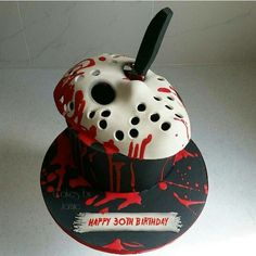 Thirteen Jason Voorhees Inspired Cakes