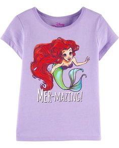 b61906b0d2 The Little Mermaid Tee from OshKosh B gosh. Shop clothing   accessories  from a trusted name in kids