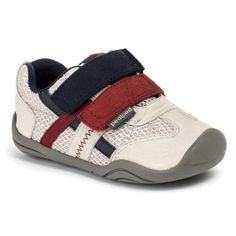 GG1955: Grip 'n' Go™ Gehrig Glacier Grey - Style him in this machine washable easy-on/easy -off shoe. Designed with G2 Technology™ to mimic the natural shape of a child's foot, provide stability, and allows toes to curl and grip while learning to walk.