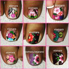 La imagen puede contener: 1 persona Toe Nail Art, Toe Nails, Pedicure, Hair And Nails, Toenails, Nail Stickers, Feet Nails, Pedicures, Toe Polish