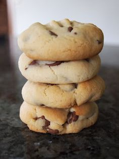 Confessions of a Bake-a-holic: Two of the best - choc-chip biscuits