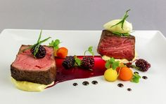 modernist steak - Google Search