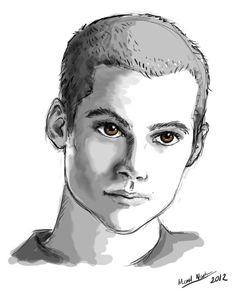 When You're Going Through Hell... by ~blackbirdrose on deviantART (Stiles Stilinski, Dylan O'Brien, Teen Wolf Fanart)