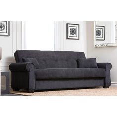 Abbyson Living Amy Fabric Sleeper Sofa Bed | Overstock™ Shopping - Great Deals on Abbyson Living Futons