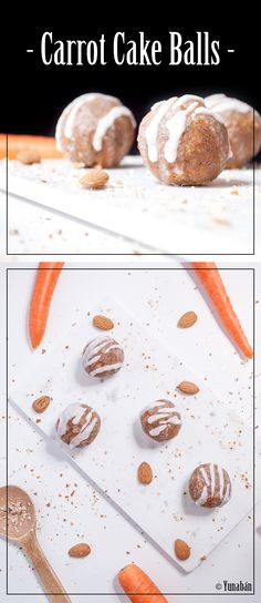 RAW VEGAN CARROT CAKE BALLS - SWISS STYLE Raw Vegan Recipes, Gluten Free Recipes, Vegan Carrot Cakes, Swiss Style, Diy Food, Healthy Life, Carrots, Balls, Breakfast