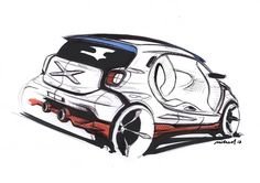 Smart Forjoy Concept Design Sketch
