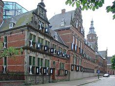 het Provinciehuis in Groningen Holland Netherlands, City Landscape, Old City, European Travel, Capital City, Utrecht, Dutch, Street View, Building