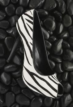Zebra shoes!