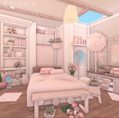 Tiny House Layout, House Layouts, Room Design Bedroom, Room Ideas Bedroom, Bedroom Designs Images, Unique House Design, Home Building Design, Pink Bedrooms, Family House Plans