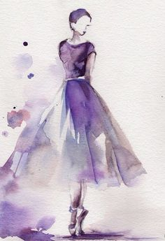 #ballet #watercolours