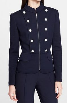 Gorgeous military jacket @nordstrom http://rstyle.me/n/q7ezmnyg6