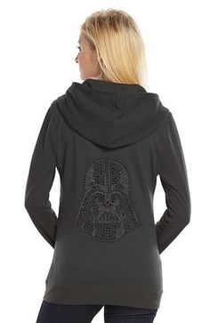 Rock & Republic® Star Wars Darth Vader French Terry Hoodie - Women's
