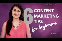6 #ContentMarketing Tips for Beginners | video from @salmajafri | #ContentCreation | @Entrepreneur Marketing Bootcamp video from Salma Jafri | Follow Entrepreneur Network partner Salma Jafri's advice, and you'll draw customers to your content in no time.