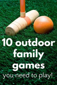 Best outdoor family games! These backyard games and lawn games are ones that all ages will love so get outside into the fresh air, have some fun and exercise! Family Game Night, Family Games, Family Activities, Learning Activities, Games To Play With Kids, Games To Buy, Backyard Games, Lawn Games, Outdoor Learning