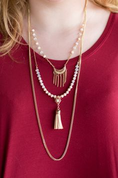 Pink Slate Boutique - Layer Me Lovely Necklace, $12.00 (http://www.pinkslateboutique.com/layer-me-lovely-necklace/)