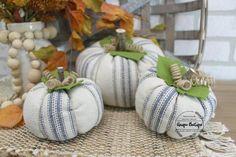 Rustic Fabric, Farmhouse Fabric, Modern Farmhouse, Ticking Fabric, Ticking Stripe, Thanksgiving Decorations, Table Decorations, Halloween Decorations, Holiday Decor