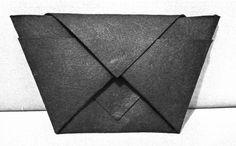 #handbag #origamicollection #onelayer #felt #nocut #workshop #inprogress #nobutton #manypockets #lessismore