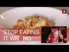 The Right Way to Eat Pasta - Stop Eating it Wrong, Episode 10 - YouTube
