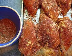ALL PURPOSE POULTRY RUB great for baking, roasting and best of all, barbecuing