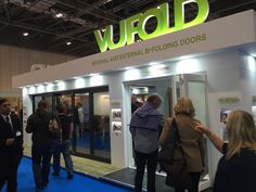 A shot of our very busy stand at the Homebuilding & Renovating Show ExCeL, London. Folding Doors, Exhibitions, Building A House, The Past, London, Accordion Doors, Pocket Doors, Build House, London England
