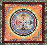 Kalchakra Mandala - Thangka