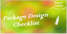 What makes a successful package from a consumer's perspective? What roles can a package play in your brand experience? This checklist will help you and your team to examine and improve your approach on package design and ultimately enhance the consumer's experience. #PackageDesign Food And Beverage Industry, Package Design, Perspective, Improve Yourself, Infographic, Packaging, Play, Free, Design Packaging