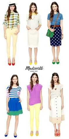 I love Madewell's outfits. Though I don't think I can pull them off.