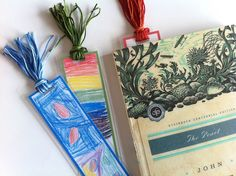 Mother's Day gifts-homemade bookmarks.