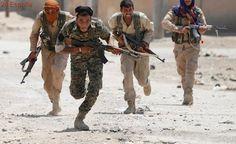 Fuerzas de la coalición rompen el cerco del Estado Islámico en la ciudad vieja de Raqqa