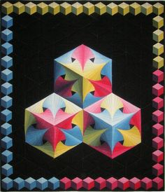 twisted log cabin quilt pattern - Google Search