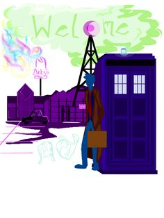 Welcome to Nightvale Doctor tshirt design WIP by SylarSushiCat.deviantart.com on @deviantART