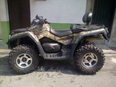 Scooter Team: VENDO BOMBARDIER CAN AM 800cc - 2009