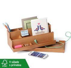 Organizér na písací stôl