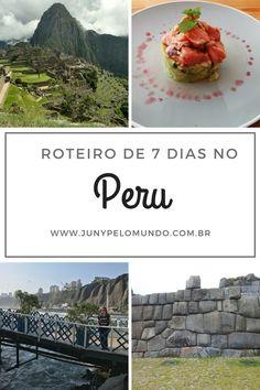 Peru (Lima, Cusco e Machu Picchu): Expectativas, Atrações e Roteiro de 7 dias! Viagem, Dicas de Viagem, Águas Calientes, Aula de culinária em Cusco, Gastronomia Peruana, Ceviche, Mochileiro Costa Rica Travel, Peru Travel, Travel And Tourism, Travel Tips, Machu Picchu, Cusco, Guatemala Beaches, Peru Vacation, Arequipa