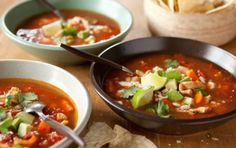 Mexican Chicken Soup with Ancho Chiles- made this for dinner tonight...outstanding flavors!! One of our new favorites.