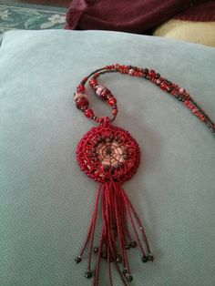 Bead woven by Kathy Hollinger