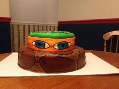 TMNT CAKE, marshmallow fondant