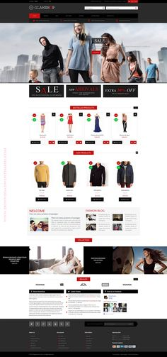 #wp #responsive #template #eCommerce #website Glamshop – Premium Responsive Magento Theme ->