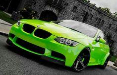 BMW E92 M3 green