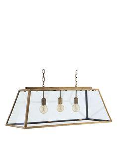 Eichholtz | Deckenlampe HARPERS mit Messingrahmen