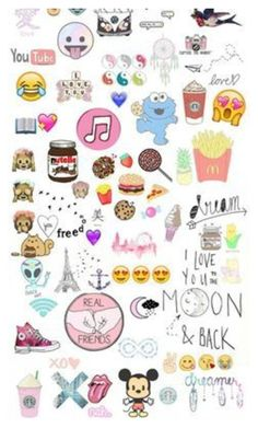 """""""Sticker my life"""" by fashioncollager on Polyvore"""