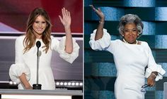Who wore it best? Congresswoman Joyce Beatty wears the SAME dress as Melania Trump during her appearance at the Democratic convention   Daily Mail Online