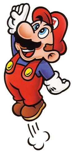 Mario Jumping - Super Mario Bros