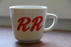 Double R Diner coffee cup. via Twin Peaks