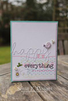 alegria: Happy Everything Card