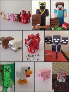 Minecraft figurines