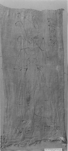 Osiris Shroud of Djedimutesankh (21 Dynasty)  MET 25.3.24